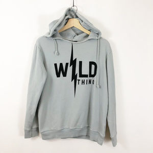 WILDFOX Wild Thing Hoody Swetshirt Grey Small